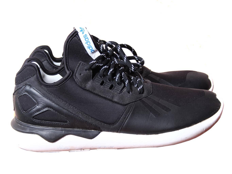 Кроссовки мужские черные TUBULAR ADIDAS 45 размер