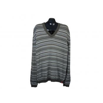 Пуловер в полоску мужской EDC by ESPRIT, XL