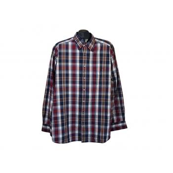 Рубашка мужская в клетку NOVUM OLYMP, XXL