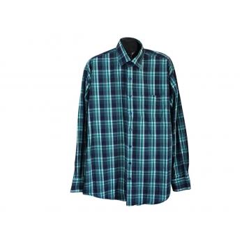 Рубашка в клетку зеленая мужская BEXLEYS MAN, 3XL