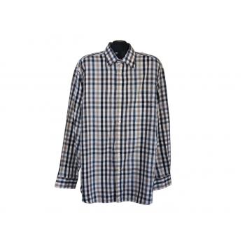 Мужская рубашка в клетку LORENZO CALVINO, XXL