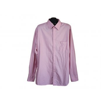 Рубашка розовая мужская PETRIFUN, XXL