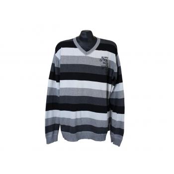 Пуловер в полоску мужской ANGELO LITRICO, XL