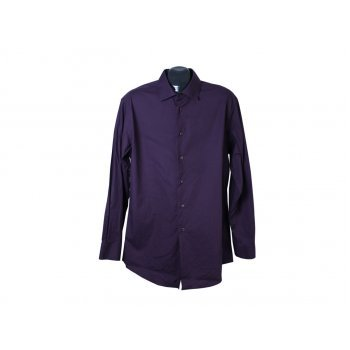 Рубашка фиолетовая мужская SLIM FIT CALVIN KLEIN, L