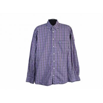 Рубашка мужская сиреневая в клетку CAMEL ACTIVE, L