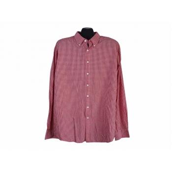 Рубашка красная в клетку мужская UNITS, XL