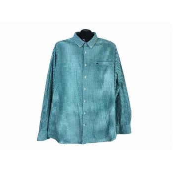 Рубашка зеленая в клетку мужская COMMANDER, 3XL