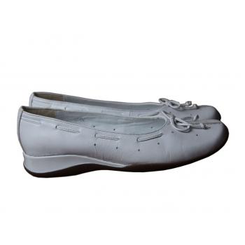 Туфли женские кожаные белые CLARKS 36 размер