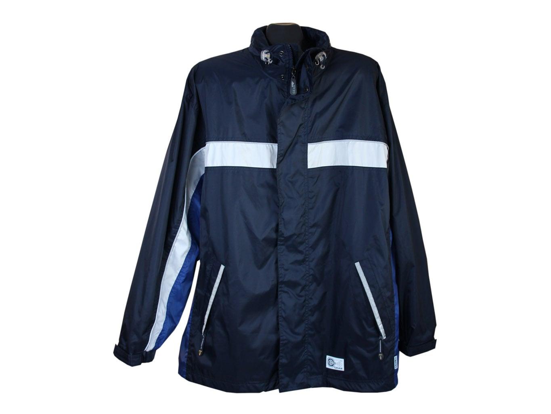 Ветровка мужская синяя с капюшоном WEATHER GEAR TCM, XL