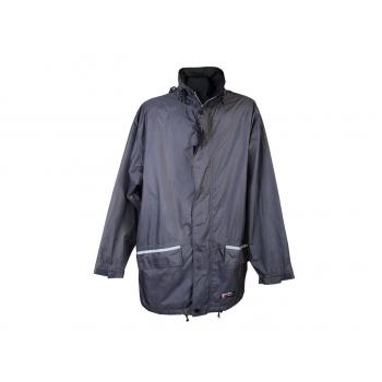 Ветровка мужская серая с капюшоном WEATHER GEAR TCM, XL