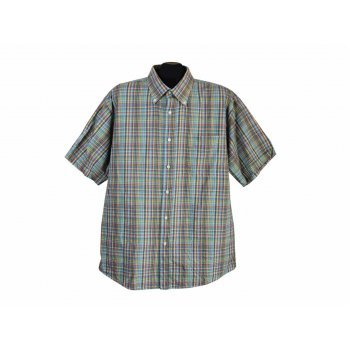 Рубашка мужская в клетку LORENZO SCUDIERI, XL