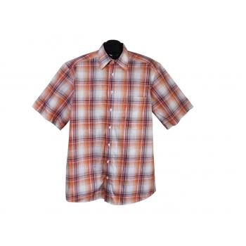 Рубашка мужская в клетку COMMANDER CLASSIC, L