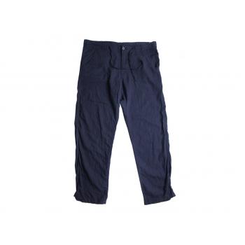 Брюки льняные мужские синие LIVERGY W 40 L 33
