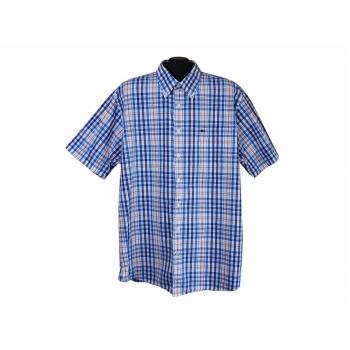 Рубашка мужская синяя в клетку COMMANDER, XXL