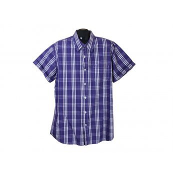 Рубашка мужская в клетку FISHBONE, XL