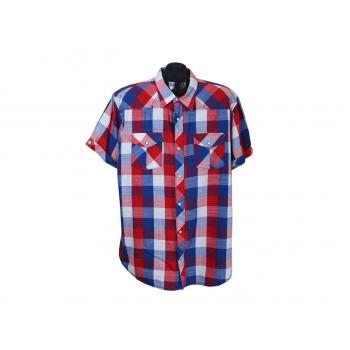 Рубашка мужская в клетку SMOG SLIM FIT, XL