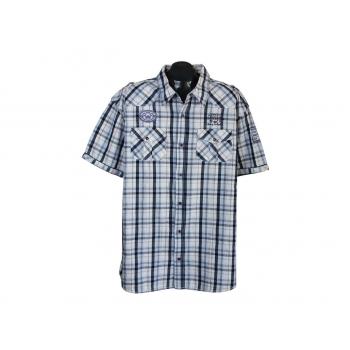 Мужская рубашка в клетку OKAY, XL