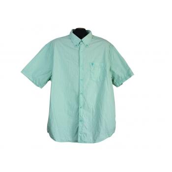 Рубашка мужская зеленая REWARD COLLECTION, XXL