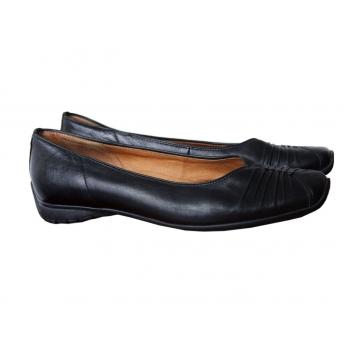 Туфли на низком ходу кожаные женские GABOR 37 размер