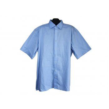 Рубашка мужская голубая MODERN FIT ETERNA, 3XL