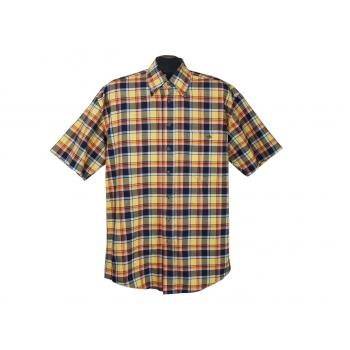 Рубашка мужская в цветную клетку ANGELO LITRICO, L