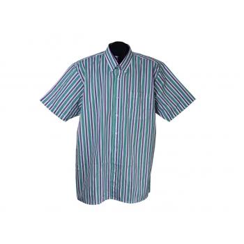 Рубашка мужская в полоску RENATO BALDI, XL
