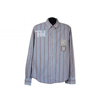Мужская в полоску рубашка TOMMY HILFIGER, М