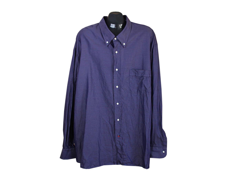 Мужская фиолетовая рубашка CARREL, 4XL