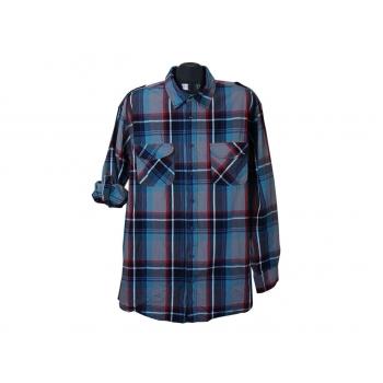 Рубашка в клетку мужская WILIAM SHIRLEY, XXL