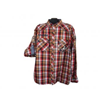 Рубашка мужская в клетку NANGA PARBAT, XXL