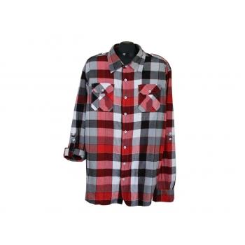 Рубашка в клетку мужская COUNTER INTELLIGENCE, XXL