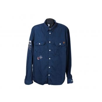 Рубашка синяя мужская ORIGINALS by JACK & JONES, L