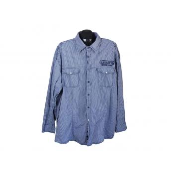 Рубашка в клетку мужская ANGELO LITRICO, 4XL