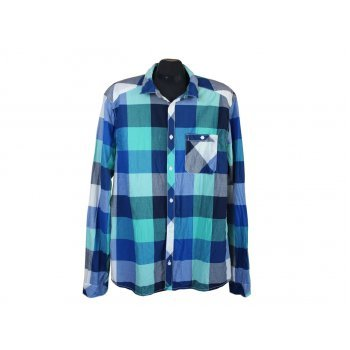 Рубашка в клетку мужская DIVIDED by H & M, L