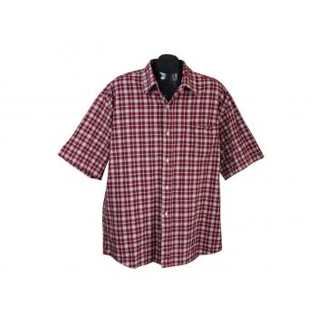 Мужская красная в клетку рубашка ACTIVE WEAR, XL