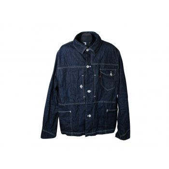 Куртка джинсовая мужская синяя LEVIS, XL