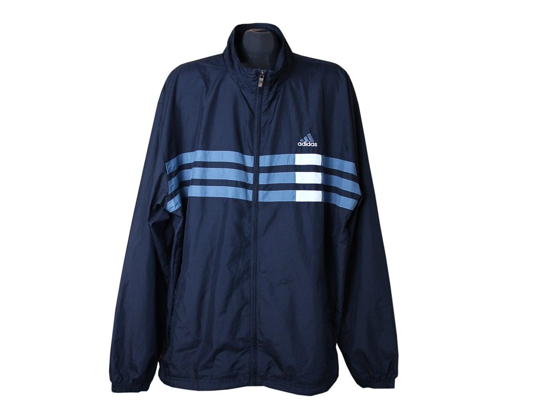 Спортивная мужская синяя мастерка ADIDAS, 3XL