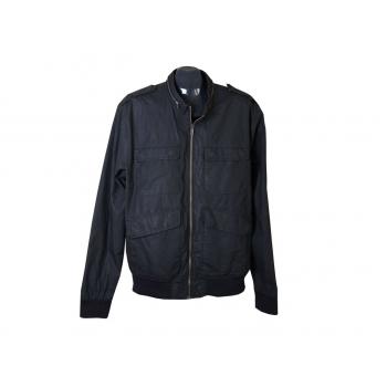 Мужская черная демисезонная куртка DIVIDED, L