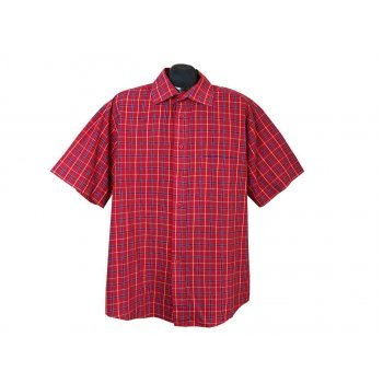 Рубашка мужская красная PARK LANE, XL