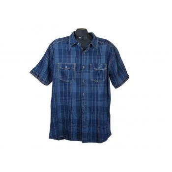 Рубашка мужская синяя REWARD FASHION NKD, XL
