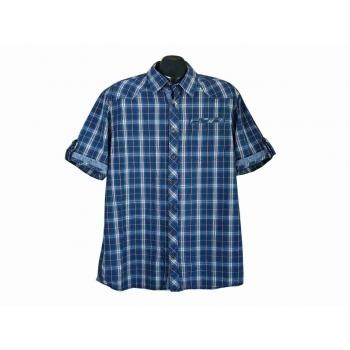 Рубашка мужская синяя в клетку ENGBERS, L