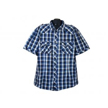 Рубашка мужская в клетку BEN STONE, XXL