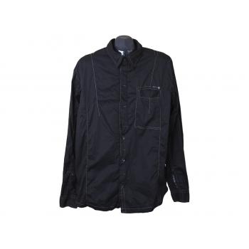 Рубашка черная мужская DSTR COLLECTIVE ANGELO LITRICO, XL