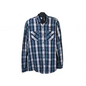 Рубашка в клетку мужская SILVERTON S.OLIVER, XL