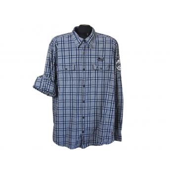 Мужская рубашка в клетку SLIM FIT S.OLIVER, XL