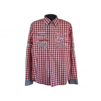 Рубашка в клетку мужская BERG PRINZ, L