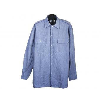 Рубашка мужская голубая GP GARMENTS, XL