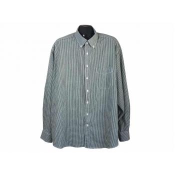 Мужская зеленая рубашка в клетку BEXLEYS MAN, 4XL