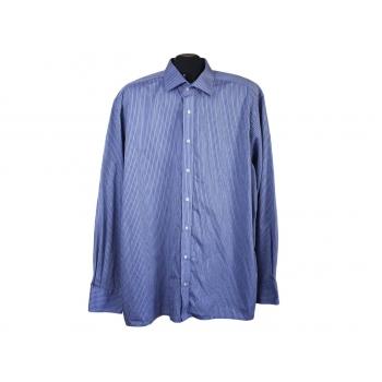 Рубашка мужская синяя в полоску EXCELLENT ETERNA, XL