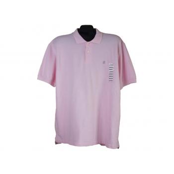 Поло мужское розовое IZOD, XL